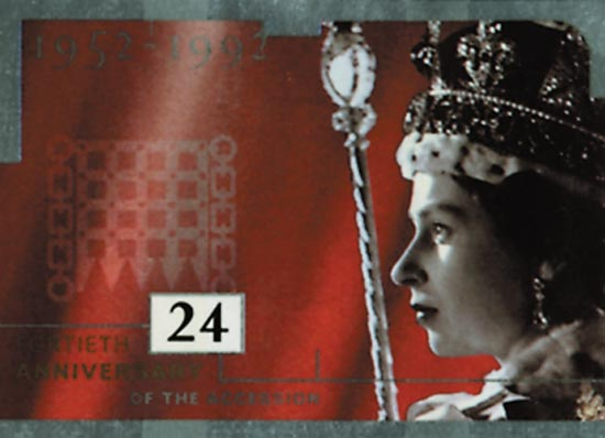 GB 1992  SG1602/6 unmounted mint