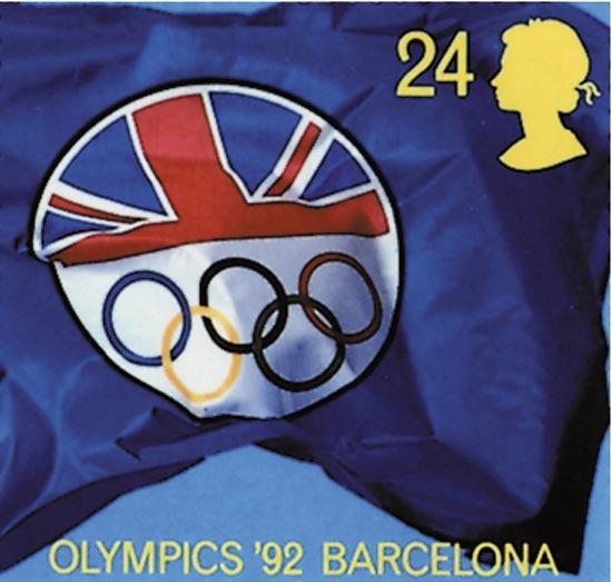 GB 1992  SG1615/19 unmounted mint