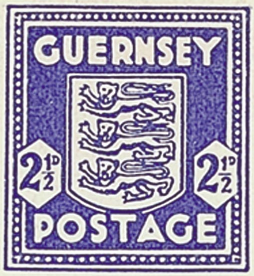 Guernsey 1943  SG1f unmounted mint
