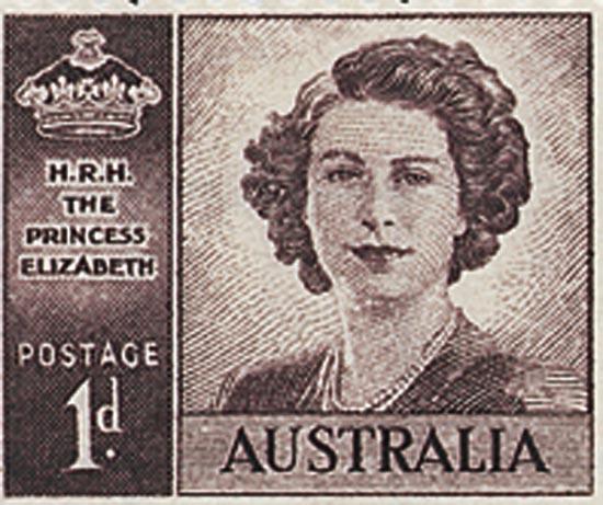AUSTRALIA 1947  SG222a unmounted