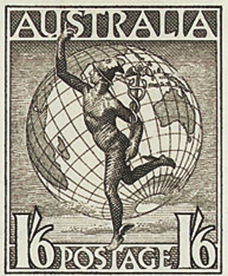 AUSTRALIA 1956  SG224e unmounted