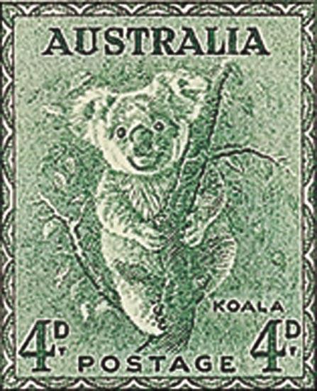 AUSTRALIA 1956  SG230a unmounted