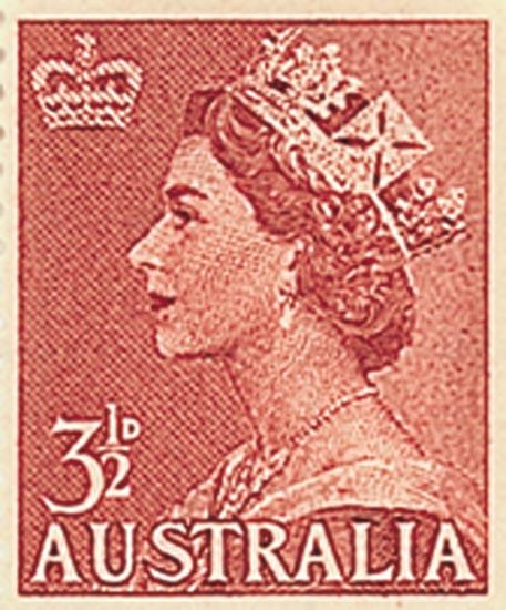 AUSTRALIA 1956  SG262a unmounted
