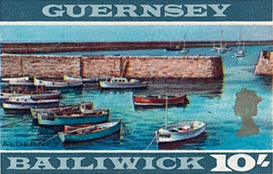 Guernsey 1969  SG27a unmounted mint