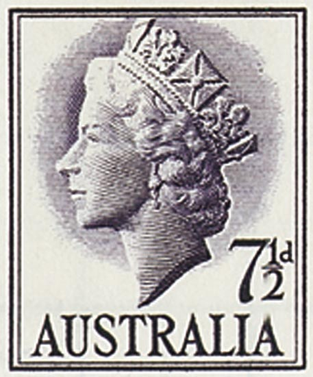 AUSTRALIA 1957  SG282a unmounted