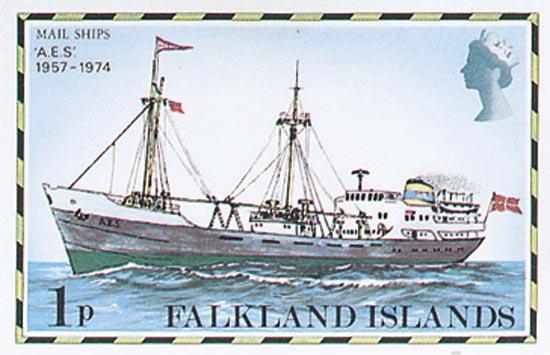 FALKLAND ISLANDS 1982  SG331B/45B unmounted