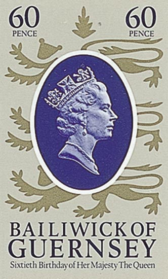Guernsey 1986  SG365 unmounted mint