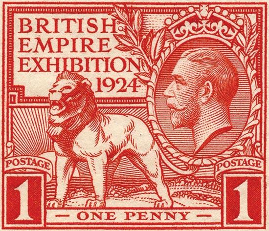 GB 1924  SG430/1 unmounted mint