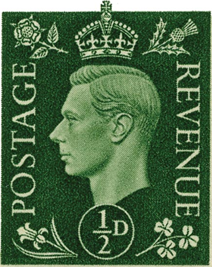 GB 1950-52  SG503/8 unmounted mint