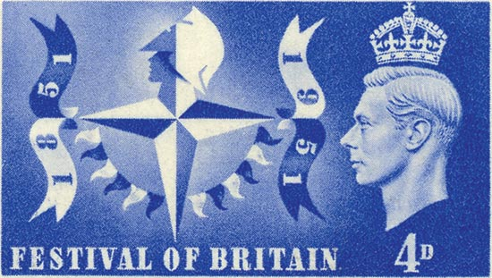 GB 1951  SG513/14 unmounted mint