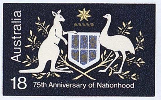 AUSTRALIA 1976  SG614c unmounted