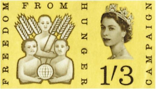 GB 1963  SG634p/5p unmounted mint