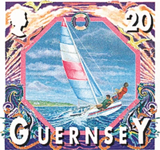 Guernsey 2000  SG795 unmounted mint