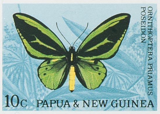PAPUA NEW GUINEA 1966  SGSG82/92 Used
