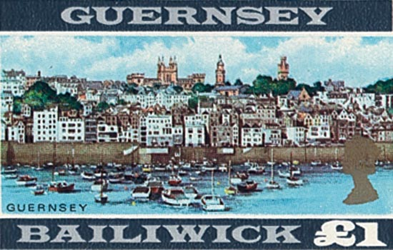 Guernsey 2001  SG927 unmounted mint