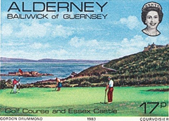 Alderney 1983  SGA11 unmounted mint
