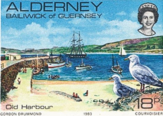 Alderney 1983  SGA12 unmounted mint