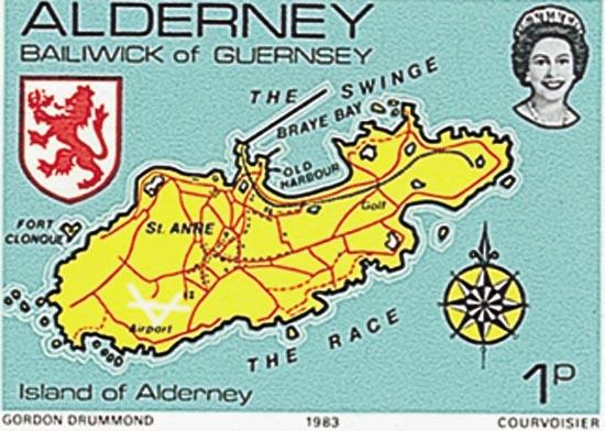 Alderney 1983  SGA1 unmounted mint
