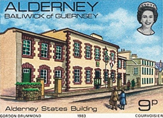 Alderney 1983  SGA3 unmounted mint