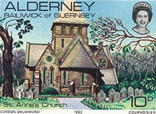 Alderney 1983  SGA4 unmounted mint