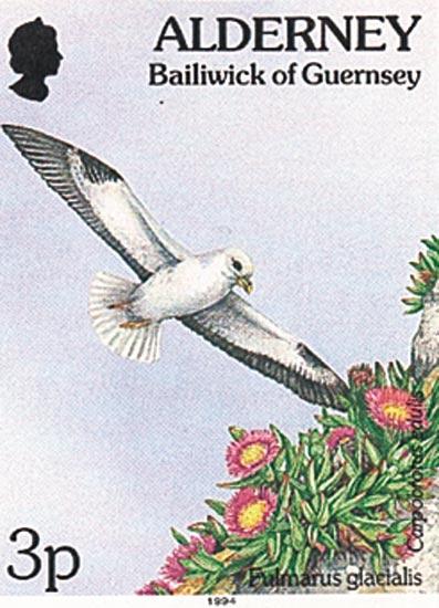 Alderney 1994  SGA62 unmounted mint