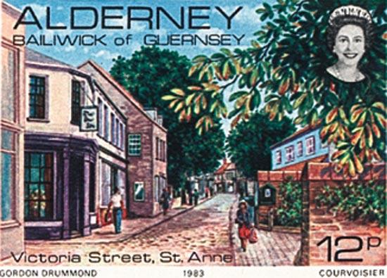 Alderney 1983  SGA6 unmounted mint