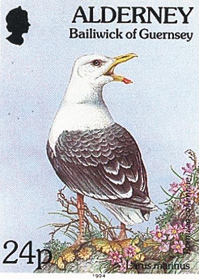 Alderney 1994  SGA72 unmounted mint