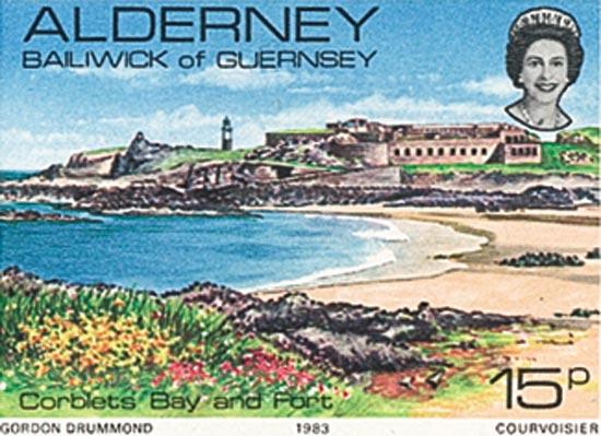 Alderney 1983  SGA9 unmounted mint