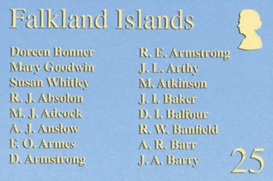 FALKLAND ISLANDS 2007  SGMS1077 unmounted