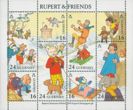 Guernsey 1993  SGMS606 unmounted mint