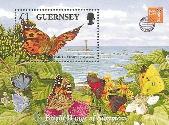 Guernsey 1996  SGMS734 unmounted mint