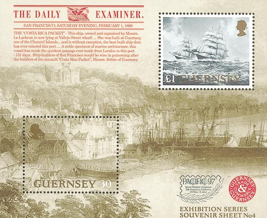 Guernsey 1997  SGMS740 unmounted mint