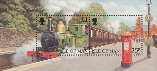Isle of Man 1998  SGMS807 Used