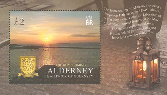 Alderney 2005  SGMSA266 unmounted mint