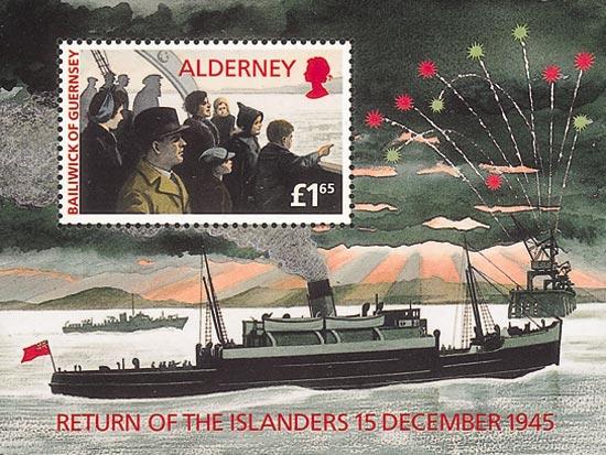 Alderney 1995  SGMSA84 unmounted mint